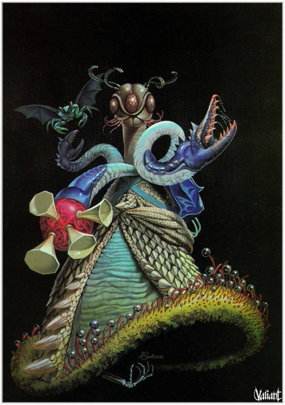 Rowena Morrill. Fantasy 40