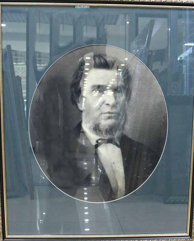 Eugene Grigorievich Chernyshev. Portrait of Aksakov I.S.