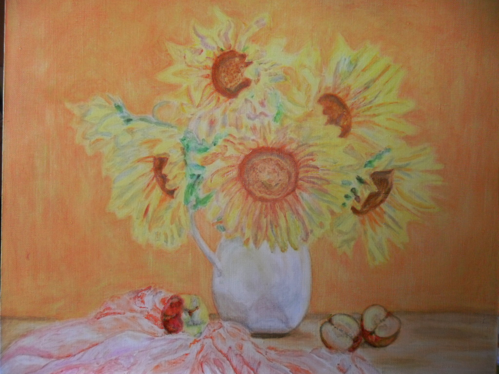 Gulnara Gafarova. Yellow flowers