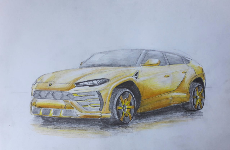 Sergey Antonovich Bozhko. Lamborghini Urus