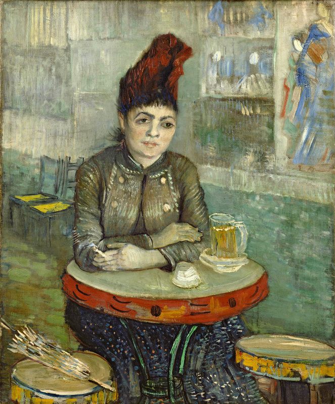 "Vincent van Gogh. Agostina Segatori in the cafe ""Tambourine"""