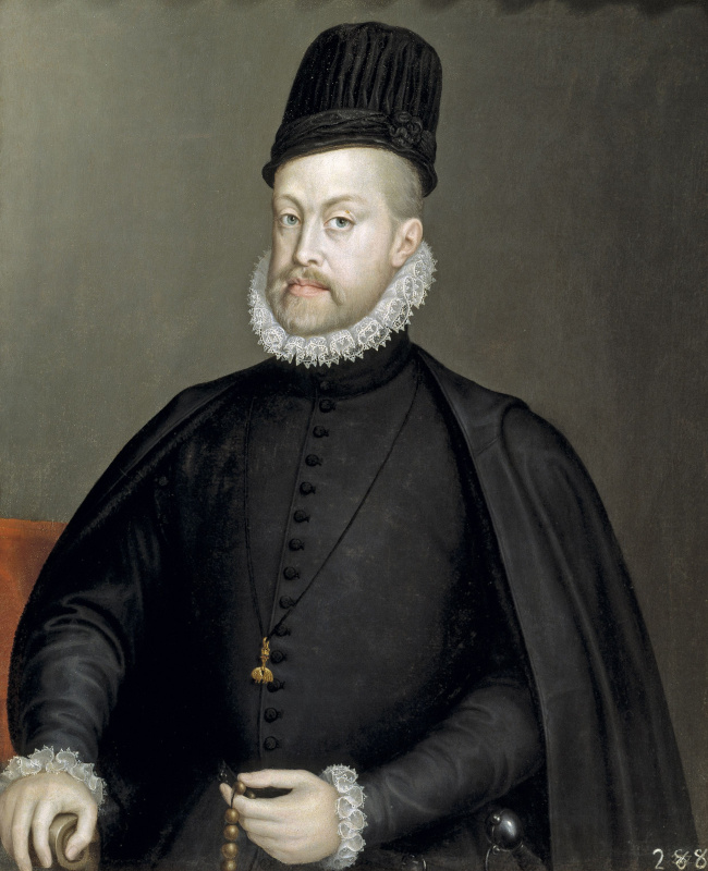 Sofonisba Anguissola. Philip II, King of Spain