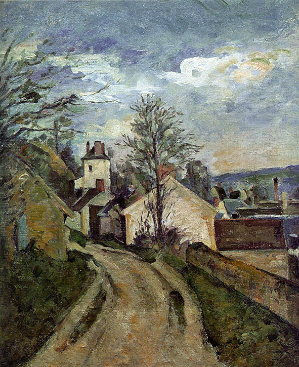 Paul Cezanne. The house of Dr. Gachet in Auvers