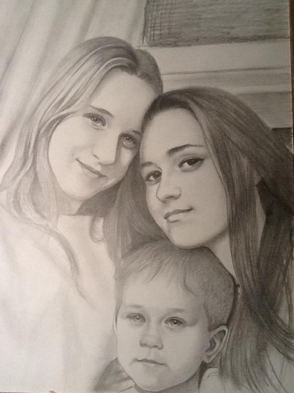 Василий Владимирович Демиденко. Семейный портрет