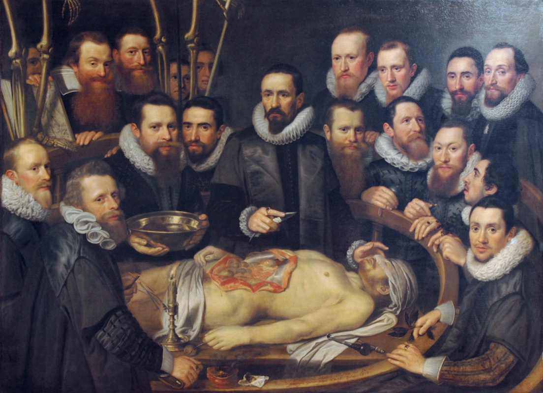 Anatomy lesson by Dr. Willem van der Meer