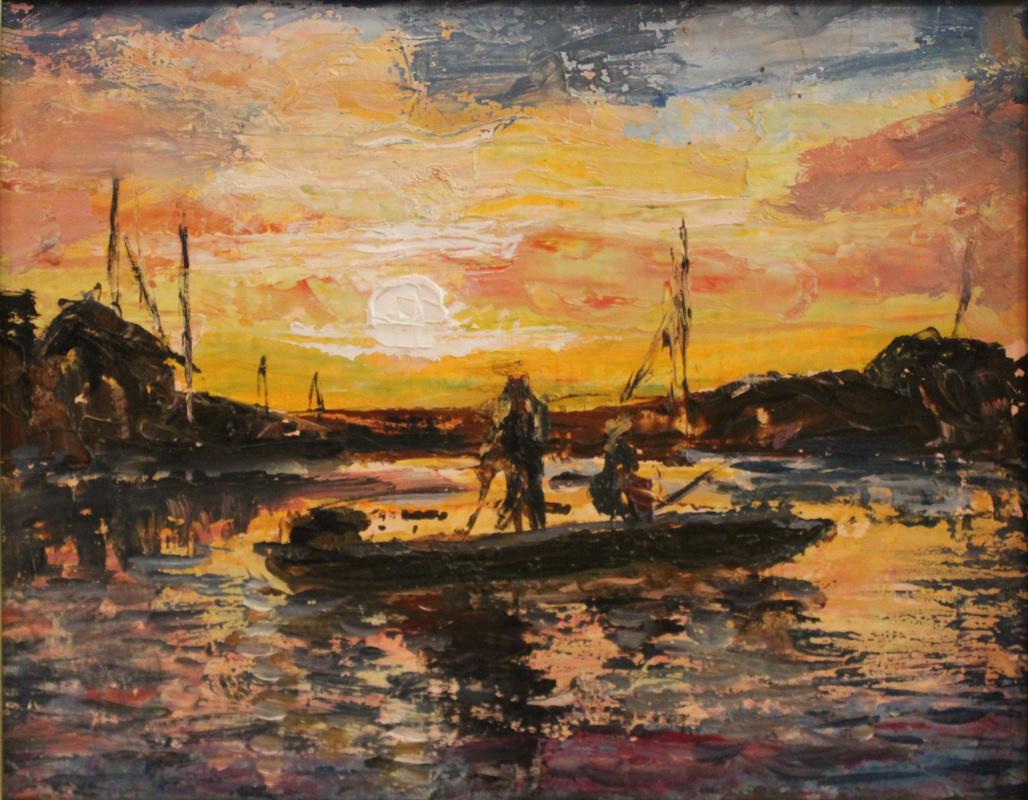 Love Sergeyevna Nikulina. Fishermen