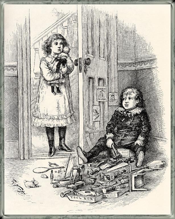 Томас Наст. Ящик для инструментов Санта Клауса