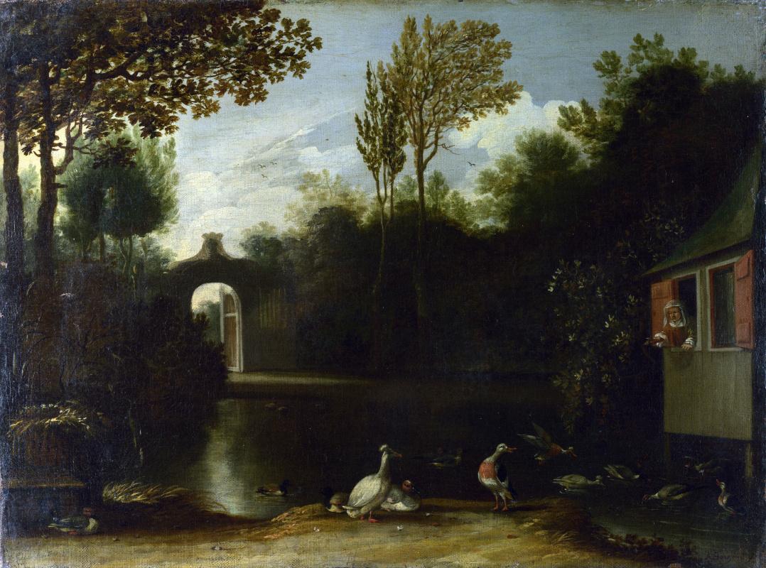 Антони ван Борссум. Сад