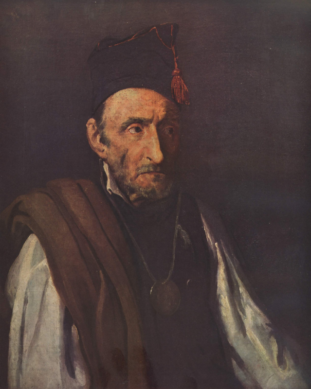 Théodore Géricault. Insane, imagining himself as a commander