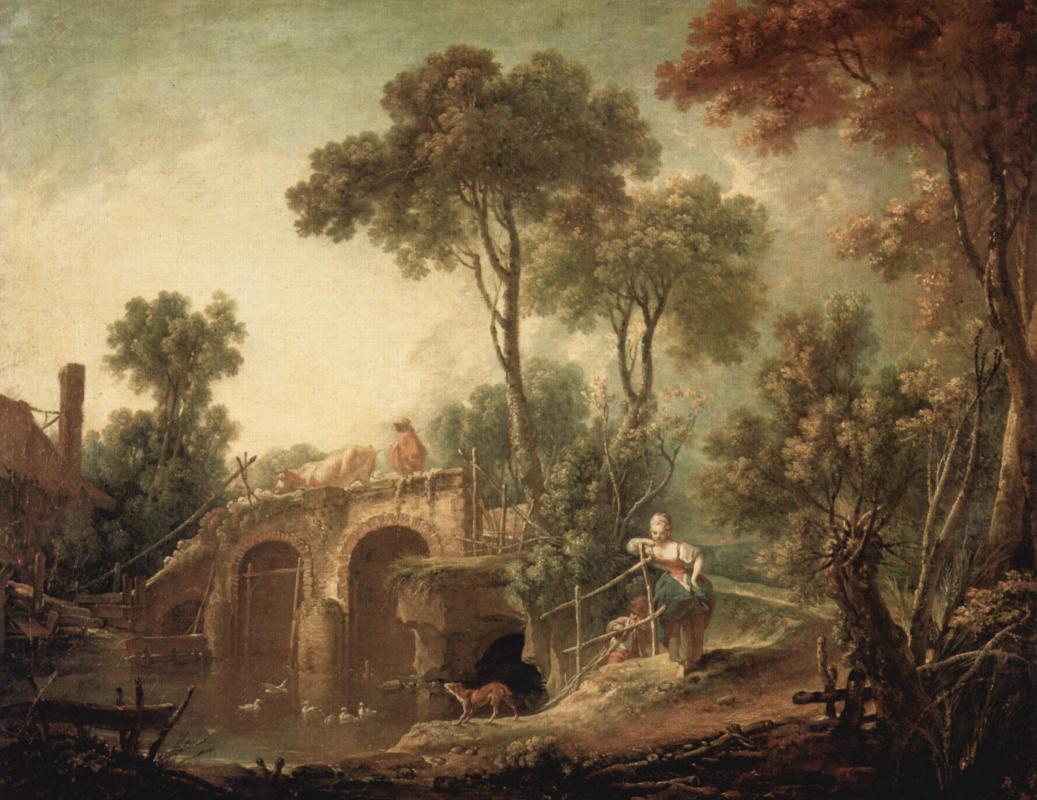 Франсуа Буше. Мост