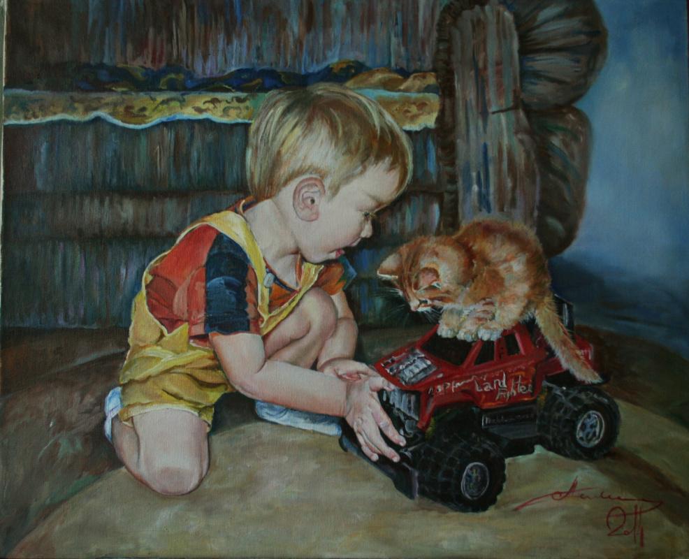Nataliya Vladimirovna Telesh. Paint to order