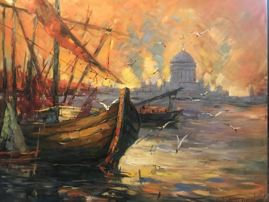 Valeria. Old harbor