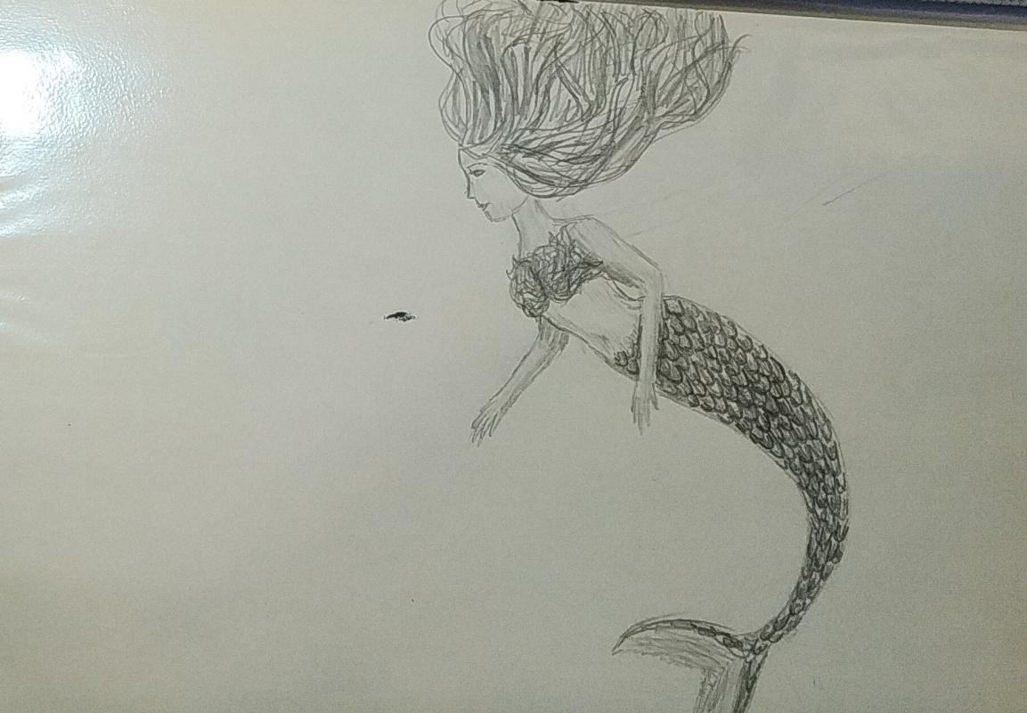 Zina Vladimirovna Parisva. Mermaid