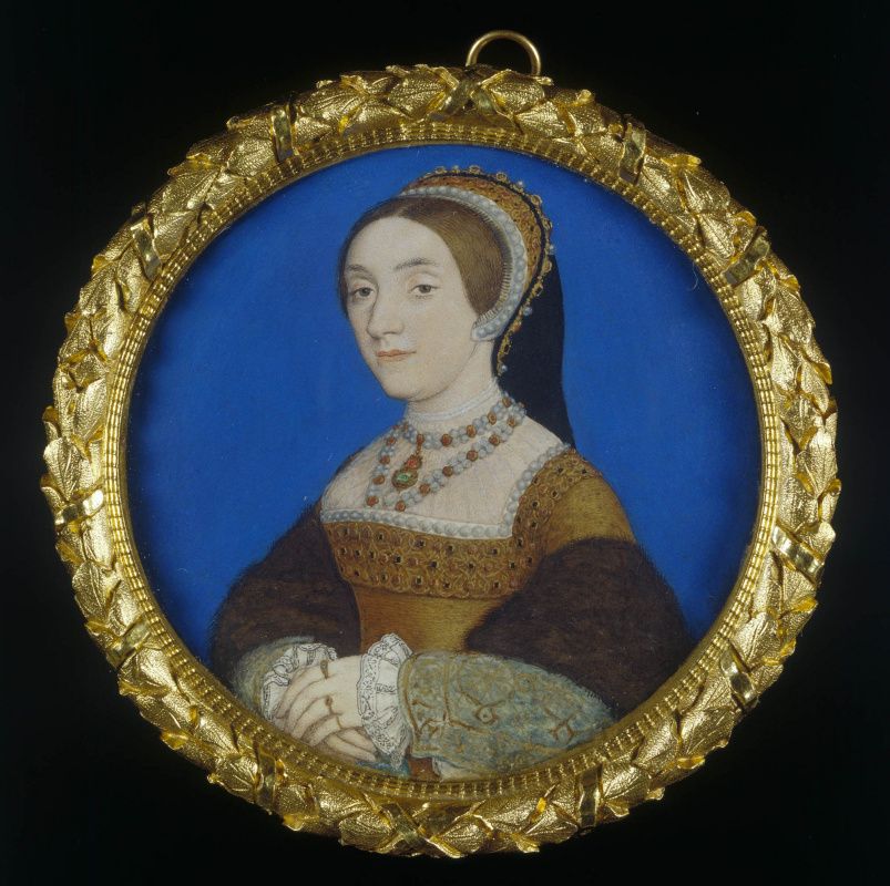 Hans Holbein the Younger. Portrait of a Lady, perhaps Katherine Howard