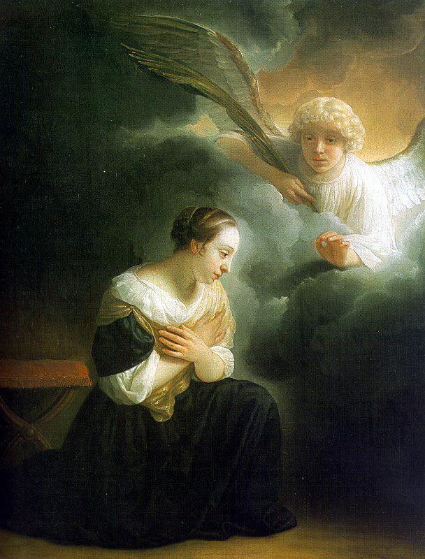 Самюэл ван Хогстратен. Явление ангела