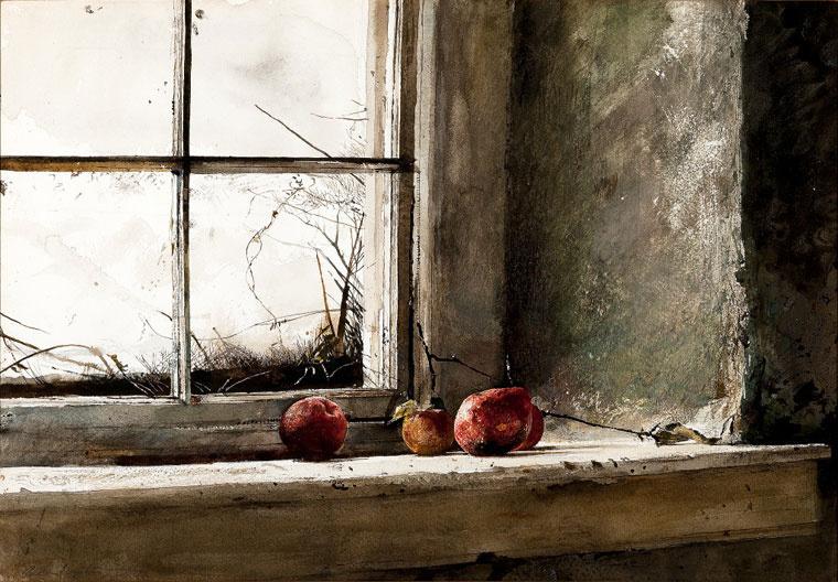 Andrew Wyeth. Frozen
