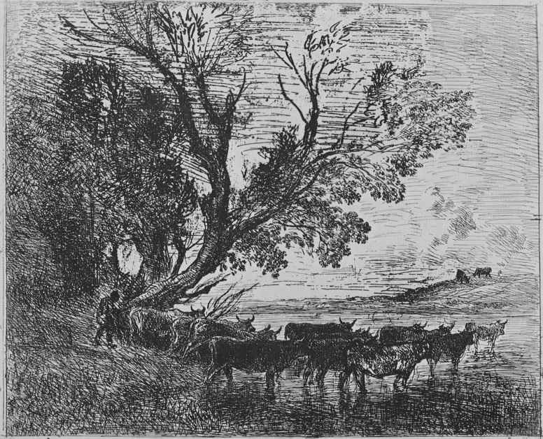 Charles-Francois Daubigny. Ford