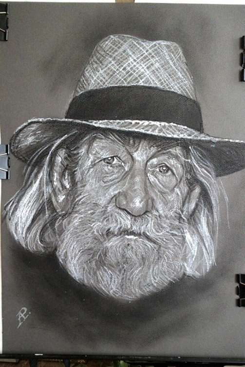 Anatoly Alexandrovich Rybakov. Omsk artist Liberov