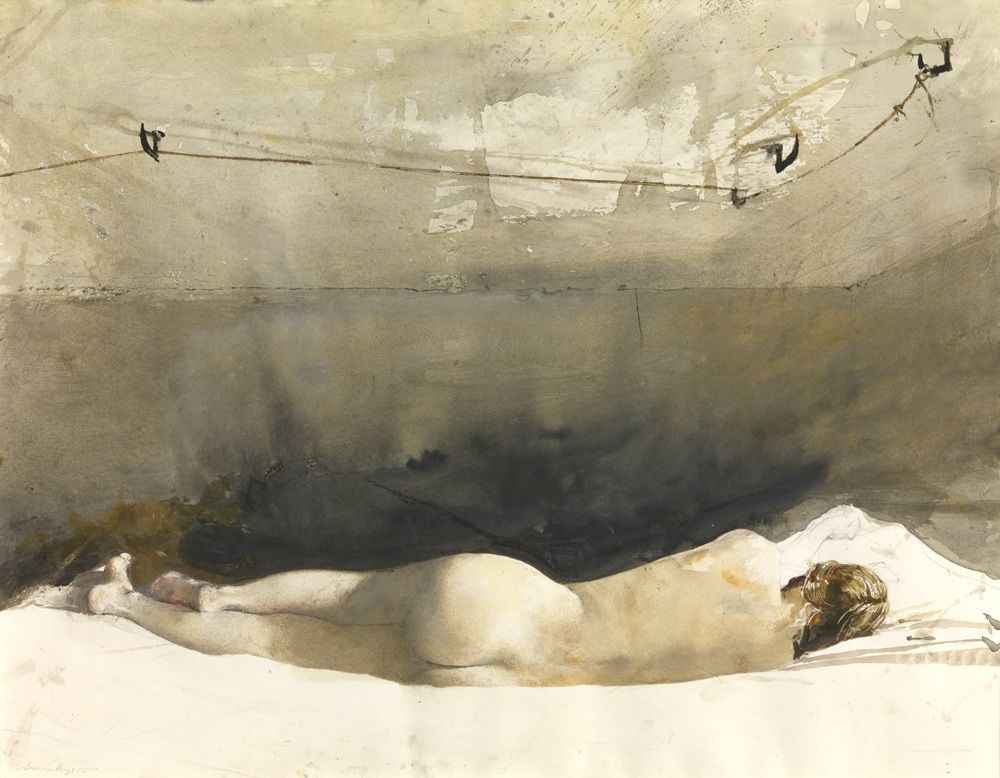 "Andrew Wyeth. Barack (from the series ""Helga"")"