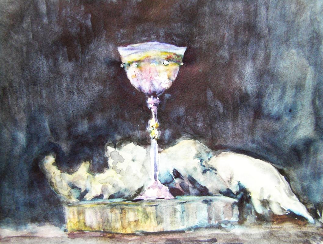 Наташа Чубарова. Натюрморт - венецианское стекло