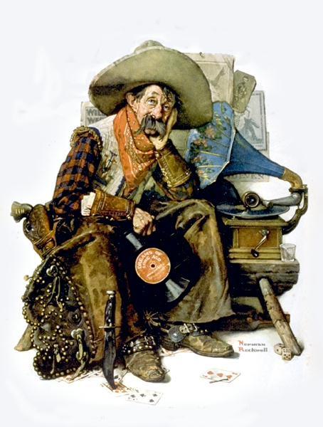 Norman Rockwell. Cowboy