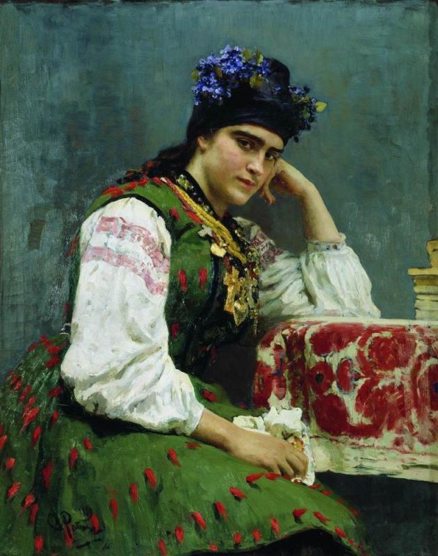 Илья Ефимович Репин. Портрет С. М. Драгомировой