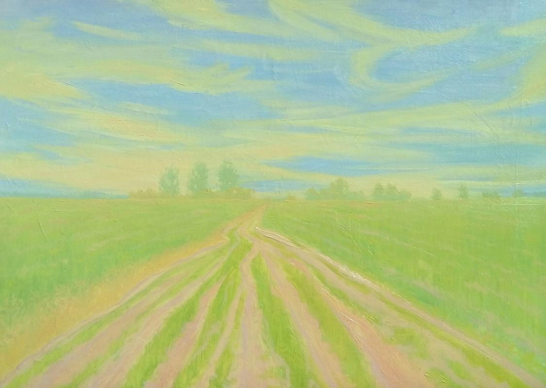 """Nikolay Nikolayevich Aksenov. """"Landscape N - 10"""""""