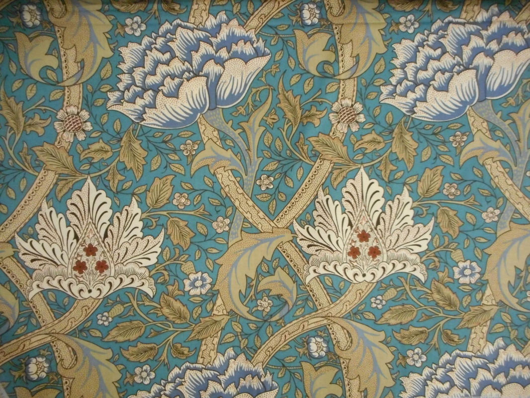 William Morris. Windrush. Design for decoration of furniture