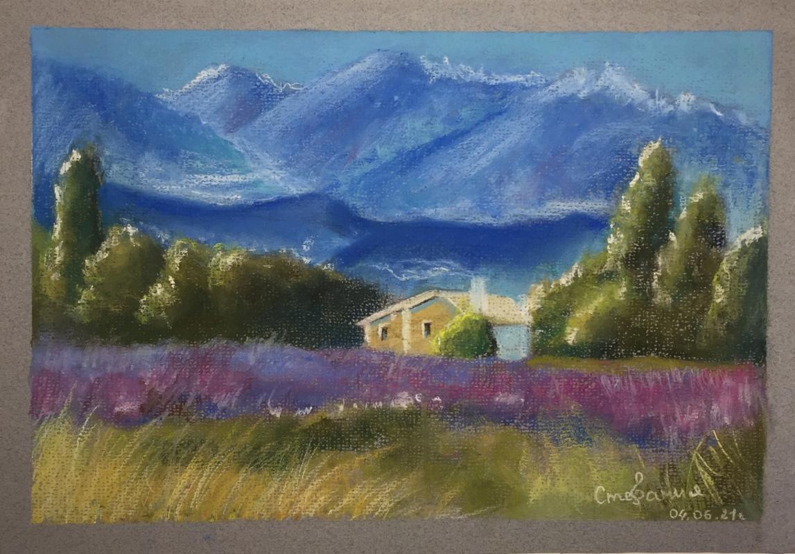 Stephanie Baletovna. House in provence