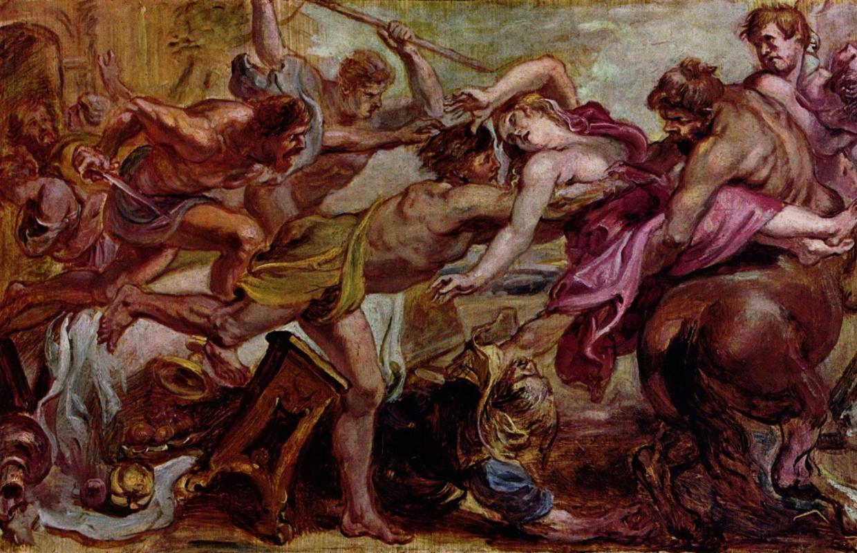 Питер Пауль Рубенс. Похищение Гипподамии