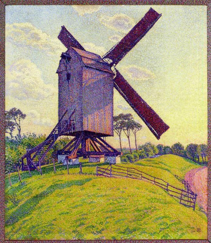 Theo van Rysselberghe. Mill