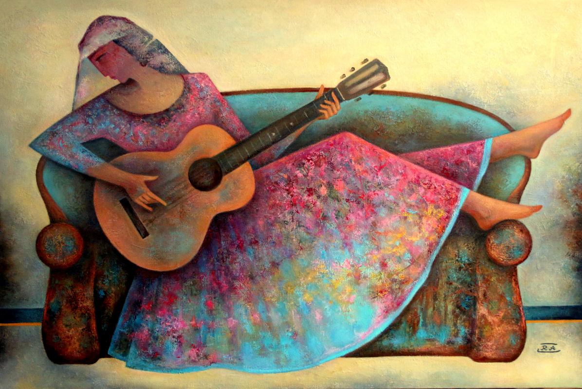 Rafail Aliyev. Song of Gypsy woman