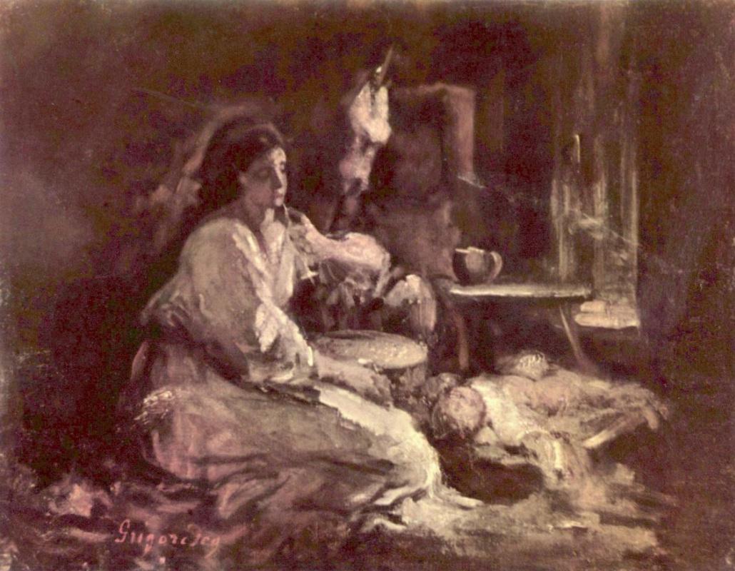 Николае Григореску. Мать