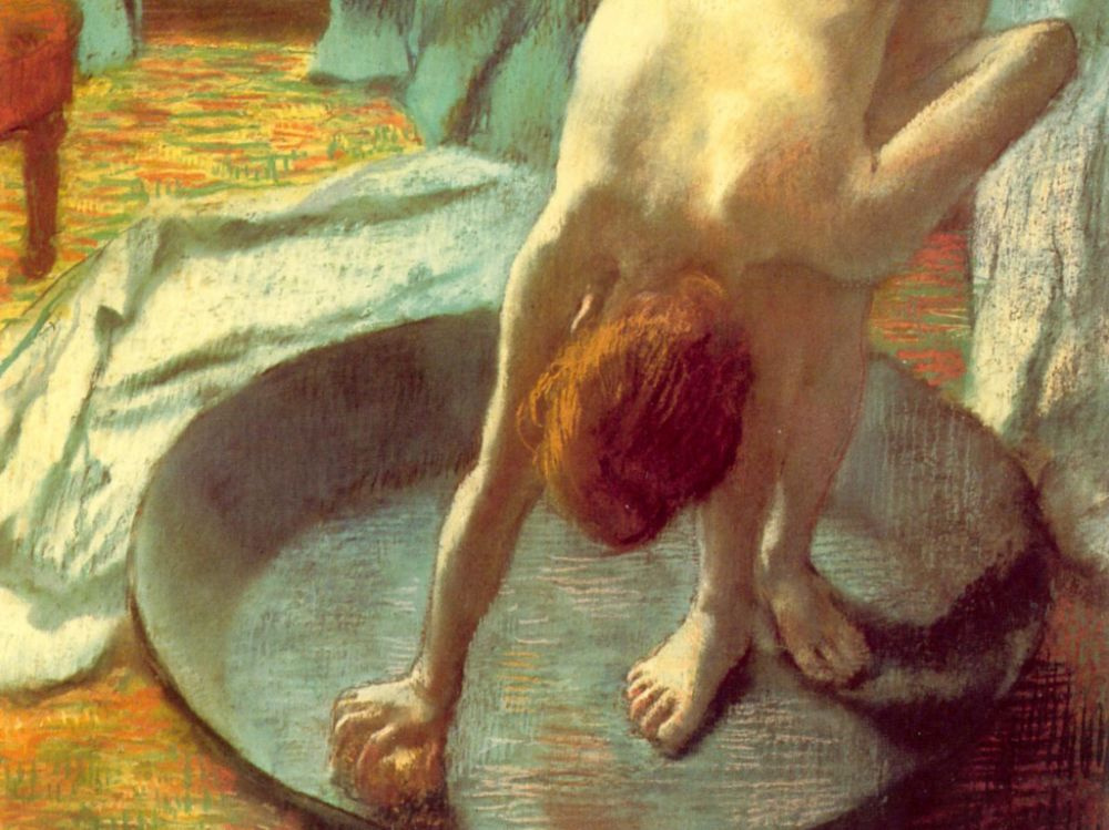 Эдгар Дега. Ванна. Фрагмент