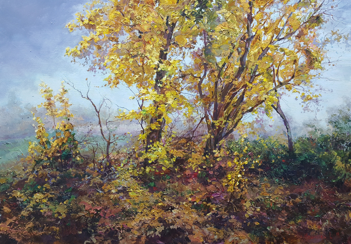 Lana Medvecka. Colors of autumn