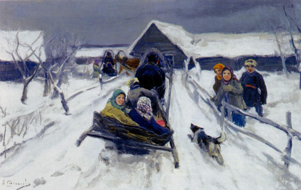 Alexey Stepanovich Stepanov. In the outskirts
