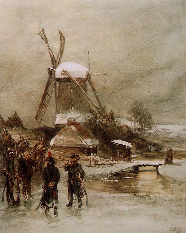 Чарльз Рочуссен. Французские войска