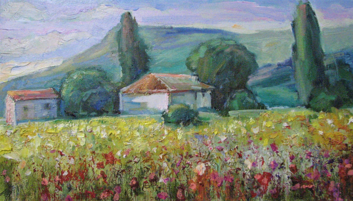 "Pavel Tyapugin. ""House in the mountains"""