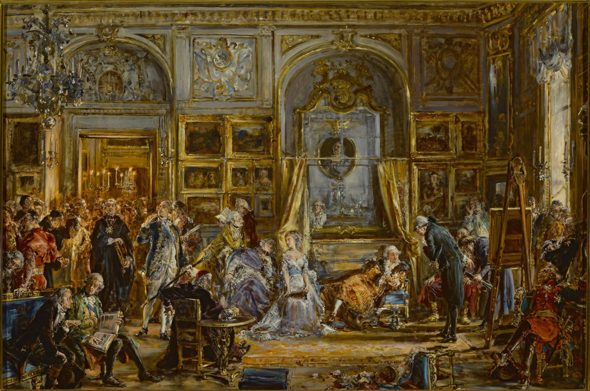 Jan Matejko. History of civilization in Poland. The Constitution of May 3, the four-year Diet of 1795, the split
