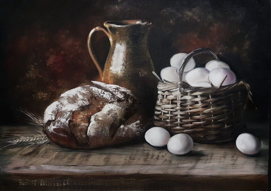 Olga Bazanova. Flavor of bread