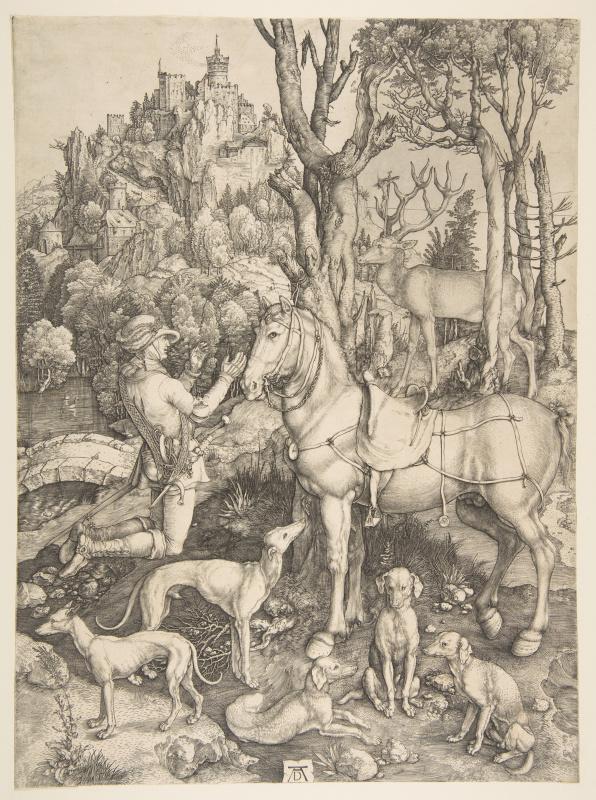 Albrecht Dürer. Saint Eustace