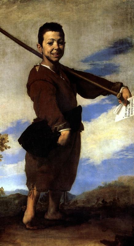 Хосе де Рибера. Косолапый мальчик