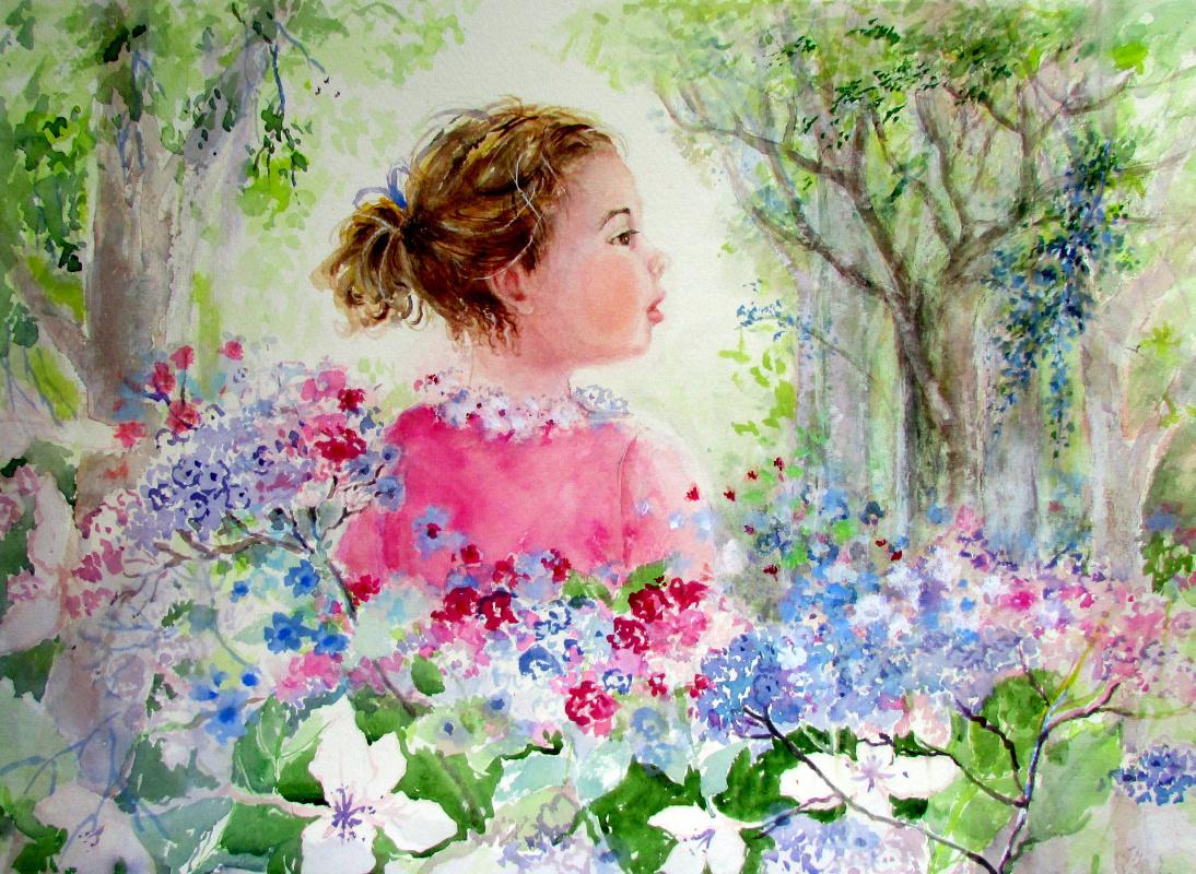 Maureen Tomaino. Flower Child
