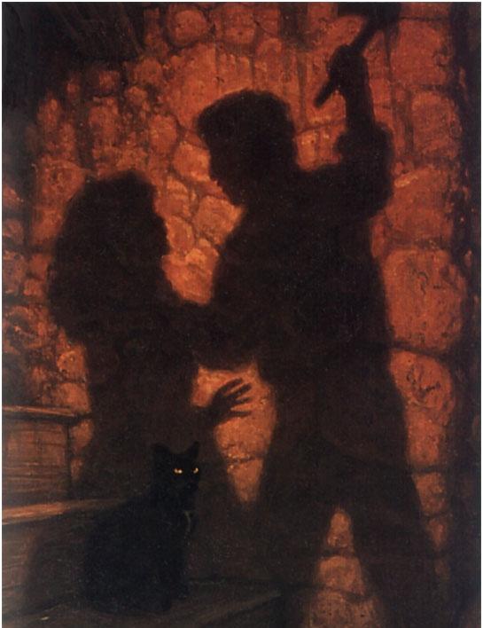 Грег Хильдебрандт. Тени и черная кошка