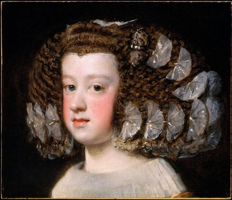 Диего Веласкес. Портрет инфанты Марии Терезии (María Teresa, infanta de España)