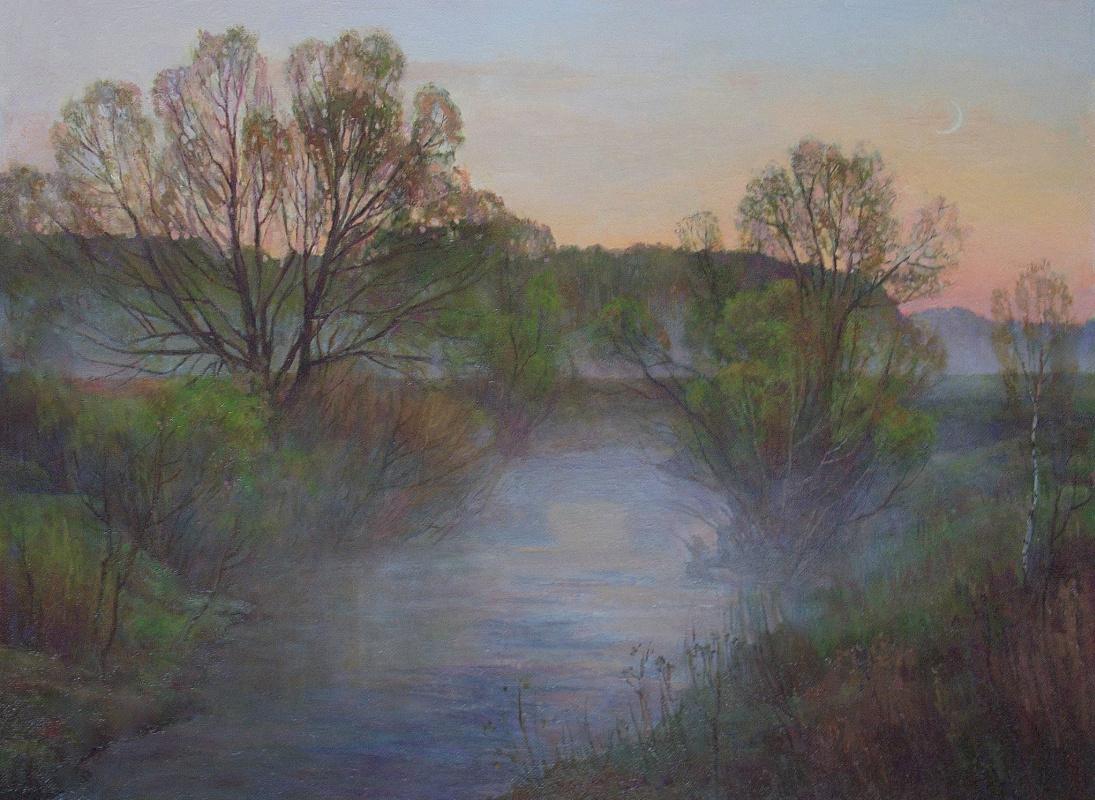 Oleg Borisovich Zakharov. May. At dawn.