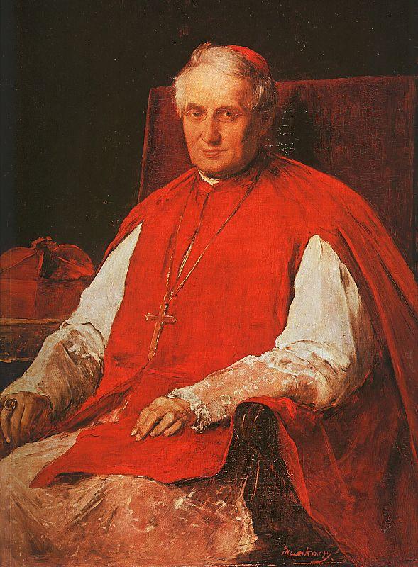 Михай Либ Мункачи. Портрет архиепископа Лайоса Айнальда