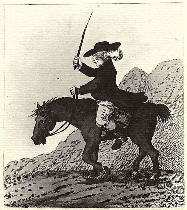 Генри Уильям Сен Пьер Банбери. Сатира на дрессировку лошадей