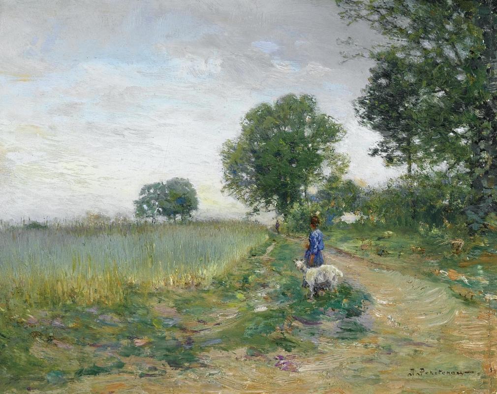 Иван Павлович Похитонов. Wheat field