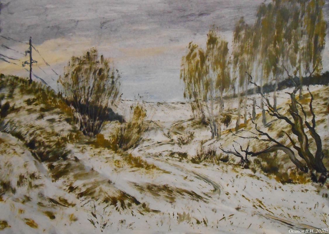 Владимир Иванович Осипов. Light snow